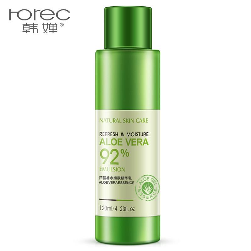 Эмульсия для лица с экстрактом алоэ вера Rorec Refresh & Moisture Aloe Vera 92% Emulsion, 120мл