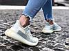 "Кроссовки женские Adidas Yeezy Boost 350 V2 ""Cloud White Reflective"" (Размеры:40,41), фото 4"