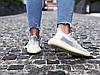 "Кроссовки женские Adidas Yeezy Boost 350 V2 ""Cloud White Reflective"" (Размеры:40,41), фото 6"