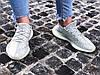 "Кроссовки женские Adidas Yeezy Boost 350 V2 ""Cloud White Reflective"" (Размеры:40,41), фото 7"