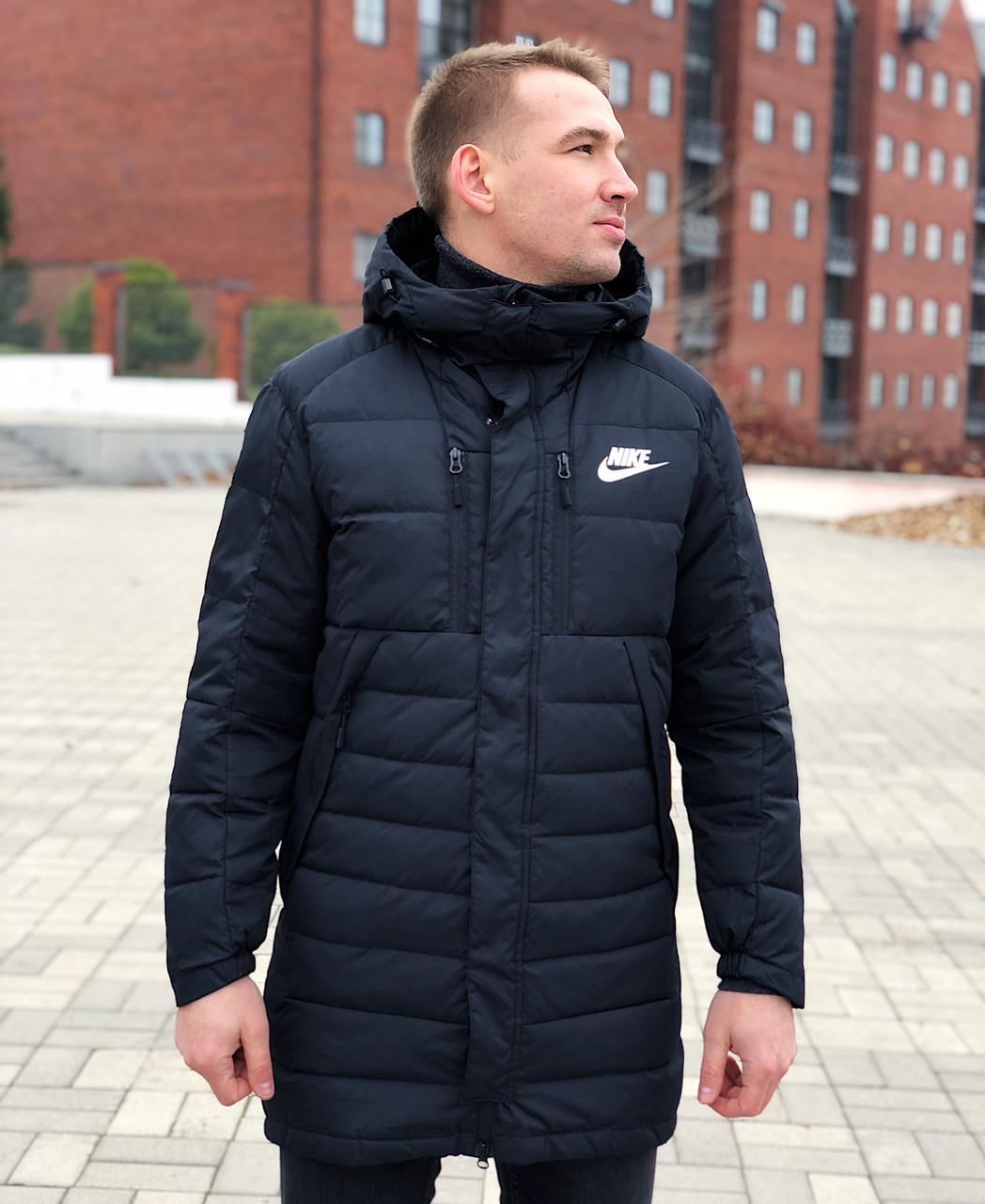 Пуховик зимовий Nike / CLO-101 (Розмір:M,L,XL)