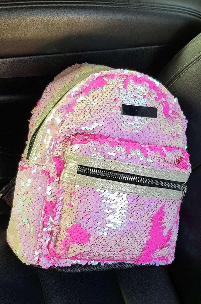 Рюкзак анти стресс розовый 23 х 19 х 10 см 1603