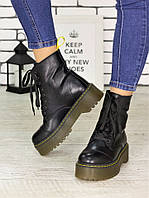 Ботинки кожа Mart!ins Lace 7183-28, фото 1