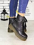 Ботинки кожа Mart!ins Lace 7183-28, фото 5