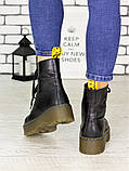 Ботинки кожа Mart!ins Lace 7183-28, фото 2