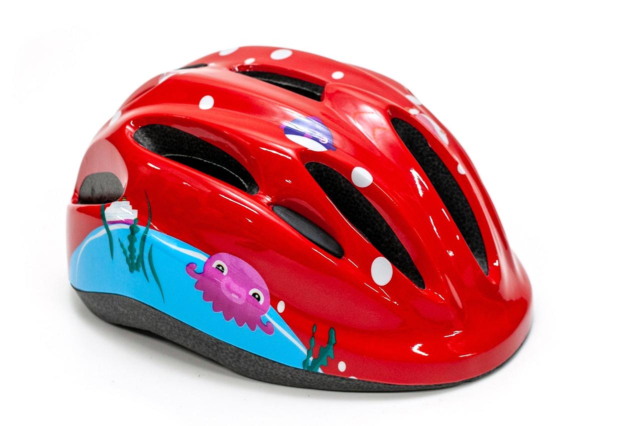 Шлем велосипедный FSK KS502 красный