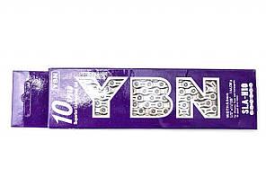 Цепь YBN SLA-H10 Silver (10 скоростей) с замком