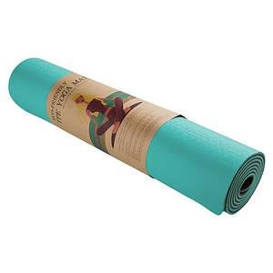 Коврик для фитнеса йоги 183 х 61 см рифленая поверхность