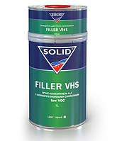Порозаполняющий грунт Solid Filler VHS 4+1 1 л + 0,25 отверд. (серый)