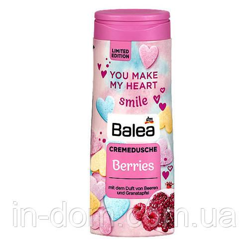 Balea Cremedusche Berries крем-гель для душа Малина-гранат 300 мл