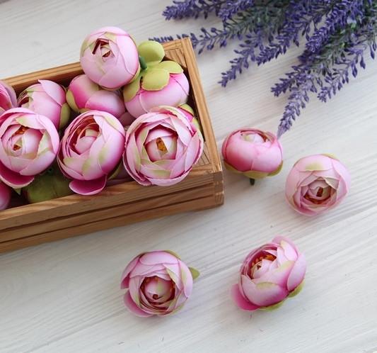 Ранункулюс бутон ,   зефирный розовый                 100 шт