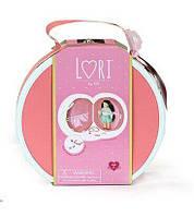Кейс для кукол Deluxe с аксесуарами (коралловый), Lori (LO37008)