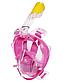 Подводная маска для снорклинга original Free Breath полнолицевая для отличного обзора под водой, фото 3