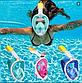 Подводная маска для снорклинга original Free Breath полнолицевая для отличного обзора под водой, фото 7