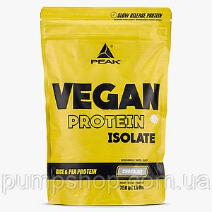 Веганский протеин-изолят PEAK Nutrition Vegan Protein Isolate 750 г