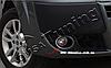 Защитная окантовка противотуманных фар Fiat Doblo 2006+ (2 шт) OmsaLine