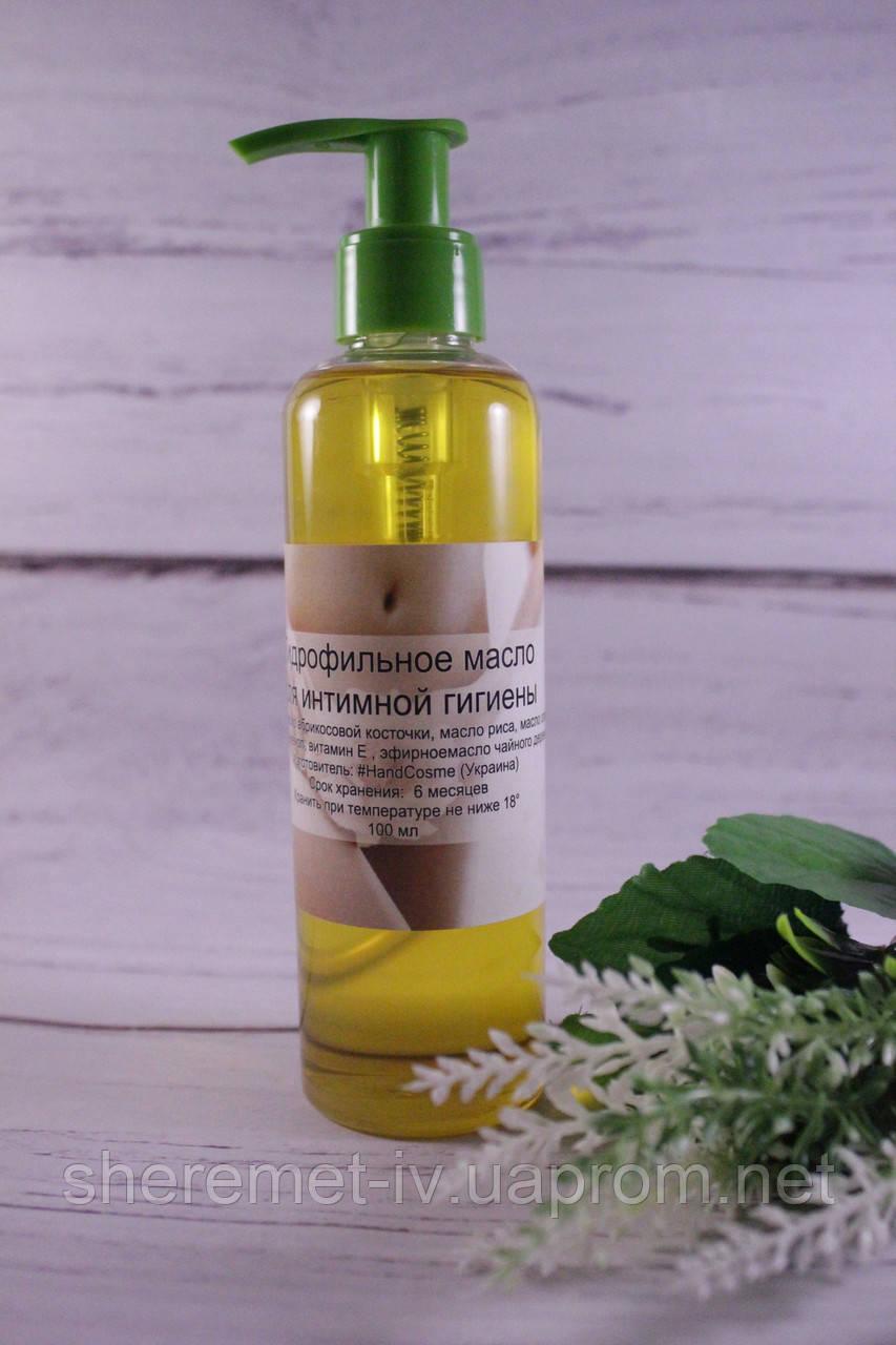 Гидрофильное масло для интимной гигиены ручной работы