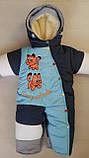 Детские зимние комбинезоны с отстегивающимся мехом оптом и в розницу, фото 6