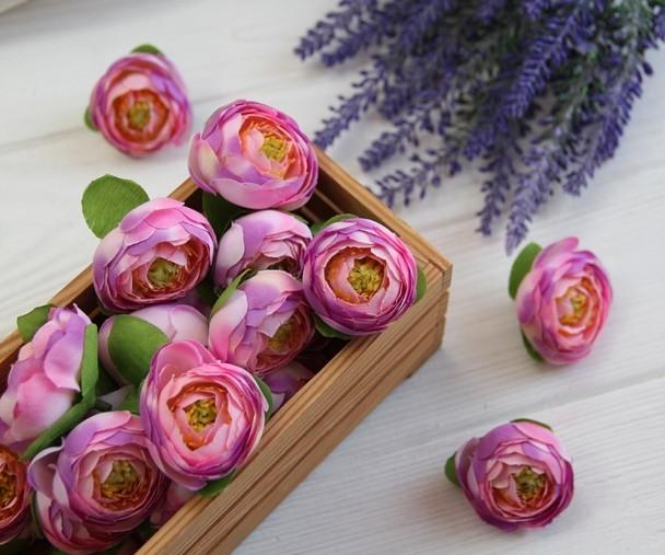 Ранункулюс бутон   № 1 ,  розово - сиреневый               100 шт