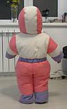 Детские зимние комбинезоны с отстегивающимся мехом оптом и в розницу, фото 2