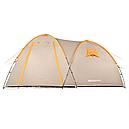 Палатка туристична чотиримісна КЕМПІНГ Tougether 4PE, бежева (420х250х160/180см), фото 2