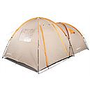 Палатка туристична чотиримісна КЕМПІНГ Tougether 4PE, бежева (420х250х160/180см), фото 4