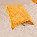 Палатка туристична чотиримісна КЕМПІНГ Tougether 4PE, бежева (420х250х160/180см), фото 7