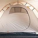 Палатка туристична чотиримісна КЕМПІНГ Tougether 4PE, бежева (420х250х160/180см), фото 8