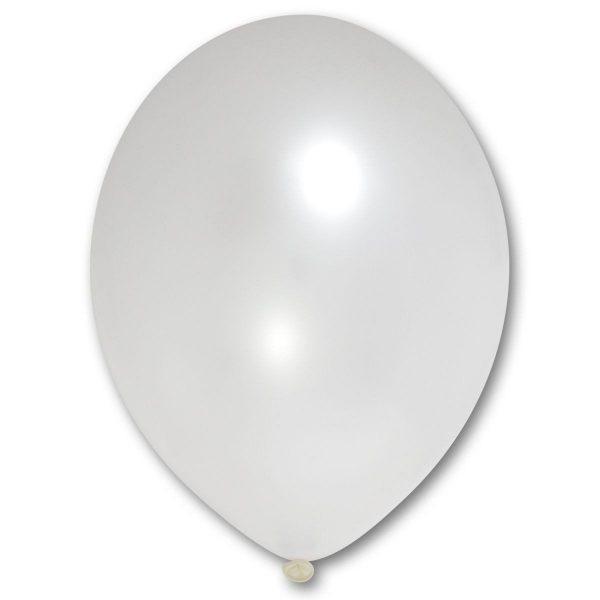 """Латексна кулька білий перламутровий В105/070/ 12"""" Belbal"""