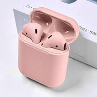 Безпровідні Bluetooth наушники TWS I11  Pink