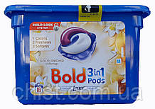 Bold капсулы  для стирки (16шт) Золотая Орхидея