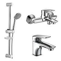 Набор смесителей для ванны Imprese PRAHA new 05030 new + 10030 new + штанга R670SD)