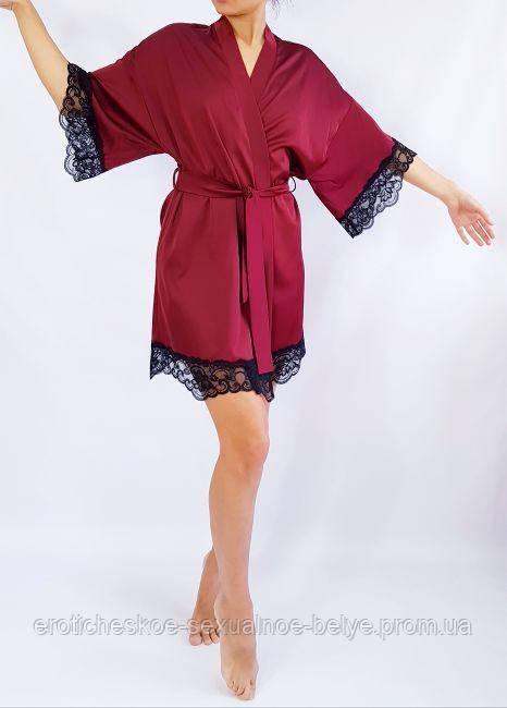 Шёлковый халат / Эротическое белье / Сексуальное белье / Еротична сексуальна білизна