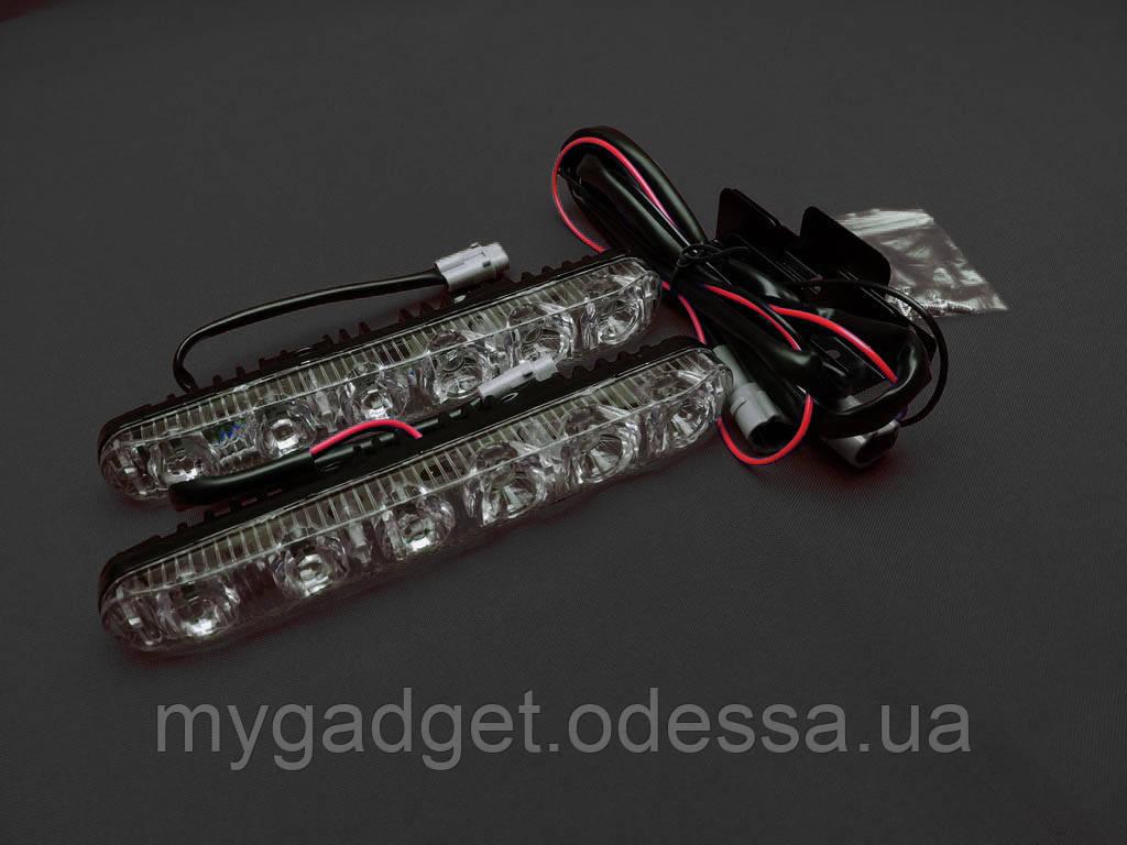 Светодиодные ходовые огни ДХО 21 2х12Вт, LED в корпусе.