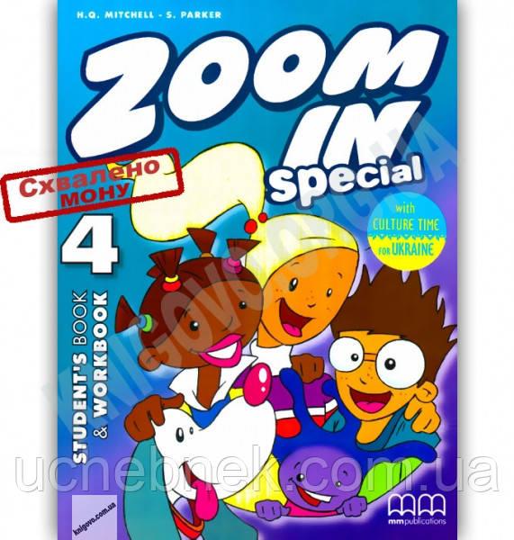 Підручник Англійська мова 4 клас Zoom in Special 4 Mitchell H.Q. MM Publications