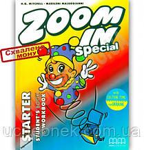 Підручник Англійська мова Zoom in Special Starter Mitchell H.Q. MM Publications