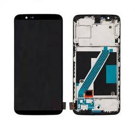 Дисплей для OnePlus 5T | A5010 (1+5T) с сенсорным стеклом в рамке (Черный) TFT