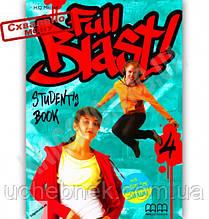Підручник Англійська мова 8 клас Поглиблений Full Blast 4 Student's Book Mitchell H.Q. MM Publications