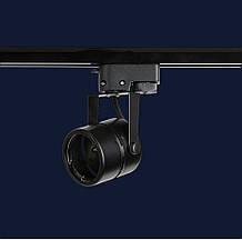 Трековый светильник под лампу MR16 черный L76-TL-RB