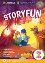 Storyfun Second Edition 2 (Starters) Student's Book with Online Activities and Home Fun Booklet / Учебник