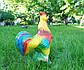 Петух - керамическая садовая фигура для сада (559), фото 3