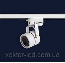 Трековый светильник под лампу MR16 белый L76-TL-RW
