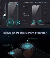 Smart Glass Умное защитное стекло для iPhone 6 и 6 плюс с двумя дополнительными кнопками