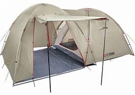 Палатка туристична чотиримісна Red Point Base 4 (400х250х190см), сіра