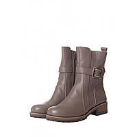 Ботинки женские на зиму из натуральной кожи 37=24 см