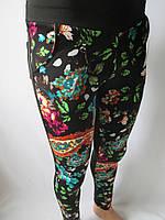 Молодежные цветные лосины с карманами., фото 1