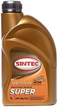 Масло ДВС 10W-40 SINTEC Супер SG/CD ,1л, п/синт