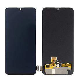 Дисплей для OnePlus 6T | (1+6T) с сенсорным стеклом (Черный) OLED