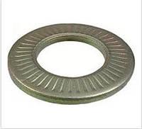 Шайба стопорная 3 контактная тарельчатая с насечкой