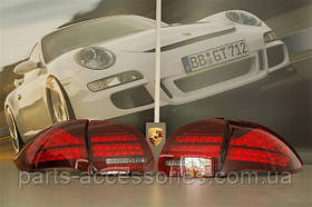 Porsche Cayenne 2010+ фонари задние Black новые оригинал комплект